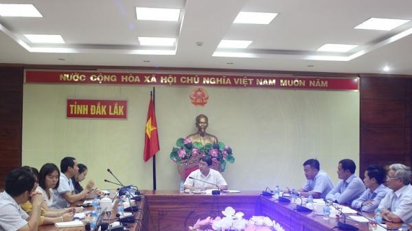 Họp chuẩn bị các nội dung Vòng thi chung kết Cuộc thi khởi nghiệp, khởi sự kinh doanh tỉnh Đắk Lắk năm 2018