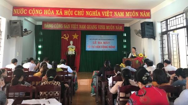 Hội LHPN huyện Krông Pắc ra mắt Tổ tư vấn cộng đồng cấp huyện