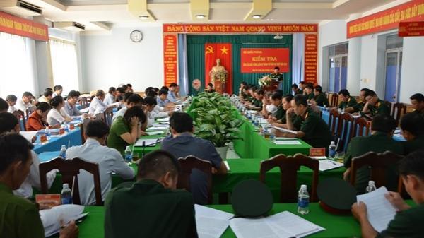 Đoàn công tác Bộ Quốc phòng kiểm tra công tác quốc phòng, quân sự địa phương tại thành phố Buôn Ma Thuột