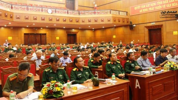 Tổng kết 10 năm thực hiện Nghị quyết 28-NQ/TW về tiếp tục xây dựng tỉnh, thành phố trực thuộc Trung ương thành khu vực phòng thủ vững chắc trong tình hình mới