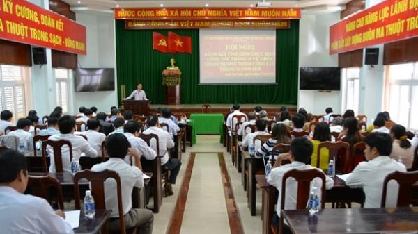 UBND thành phố Buôn Ma Thuột: Hội nghị đánh giá tình hình thực hiện công tác tháng 10 và triển khai nhiệm vụ trọng tâm tháng 11/2018