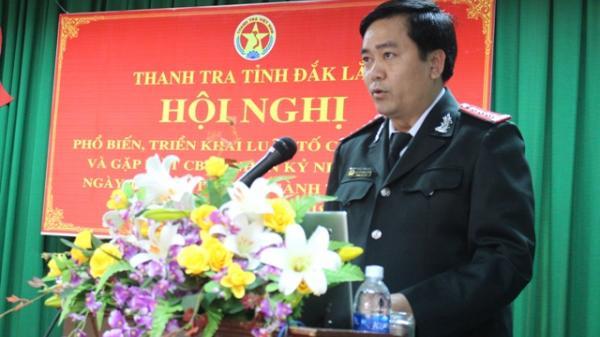 Hội nghị phổ biến, triển khai Luật Tố cáo năm 2018 và gặp mặt kỷ niệm 73 năm ngày truyền thống của ngành Thanh tra