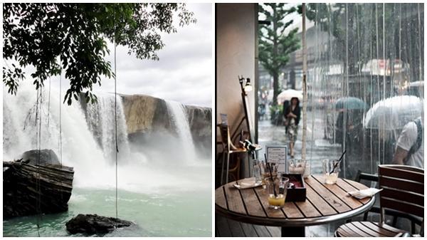 4 thành phố vẫn đẹp kể cả trong mưa