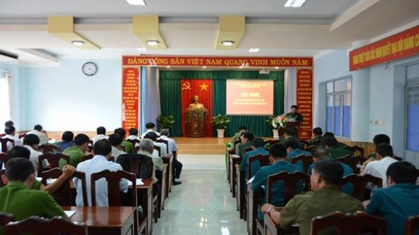 Thành phố Buôn Ma Thuột: Hội nghị rút kinh nghiệm diễn tập chiến đấu phòng thủ năm 2018