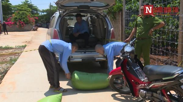 Đắk Lắk: Bắt nhóm đối tượng dùng ô tô 7 chỗ trộm cắp hàng chục tấn nông sản