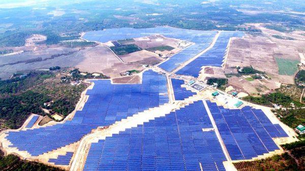 Nhà máy Điện mặt trời Cư Jút ở Đắk Nông chính thức phát điện thương mại