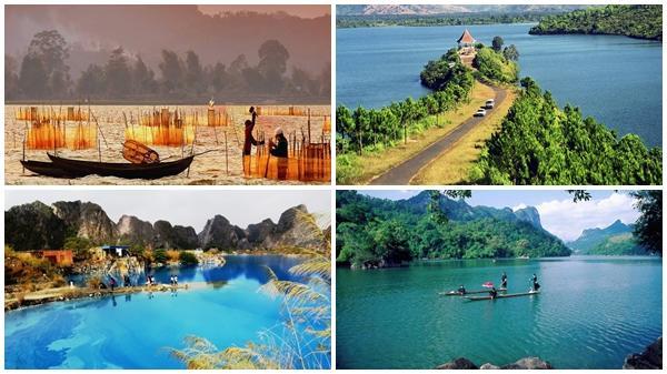 9 hồ nước đẹp dọc Việt Nam