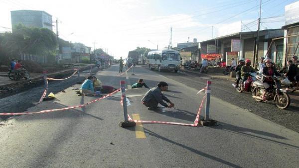 Đắk Lắk: Đang đi bộ người phụ nữ bị xe khách giường nằm tông tử vong