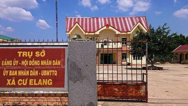 Đắk Lắk: Chủ tịch xã Cư Elang bị khởi t.ố