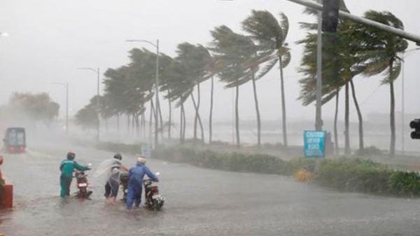 Áp thấp có thể mạnh lên thành bão, hướng từ vùng biển Quảng Ninh đến Nam Định