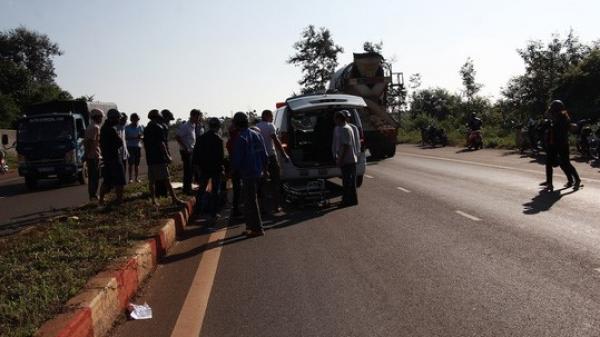 TP Buôn Ma Thuột: Sau 4 giờ tai nạn mới thấy nạn nhân tử vong cách hiện trường 50m