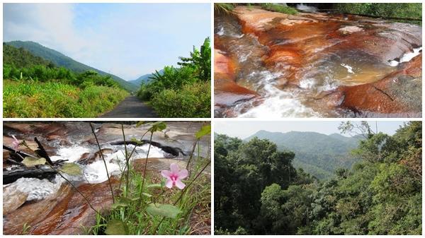 Vẻ đẹp hoang sơ, huyền bí của thác Trâu Đá
