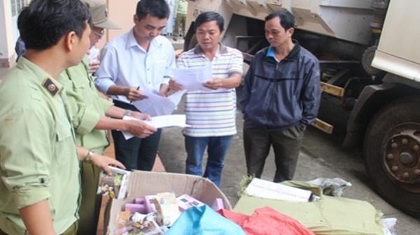 Đắk Lắk: Tịch thu số lượng lớn mỹ phẩm không rõ nguồn gốc