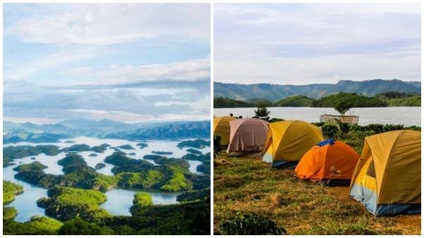 Phát hiện điểm cắm trại mới: 'Hạ Long của Tây Nguyên' cách TP HCM 270km