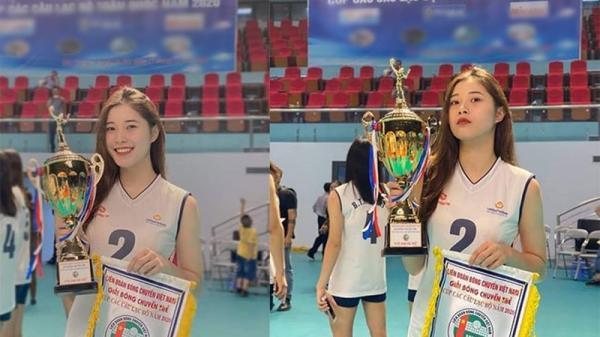 Đặng Thu Huyền: Hot girl 19 tuổi lần đầu trải lòng lý do giải nghệ bóng chuyền