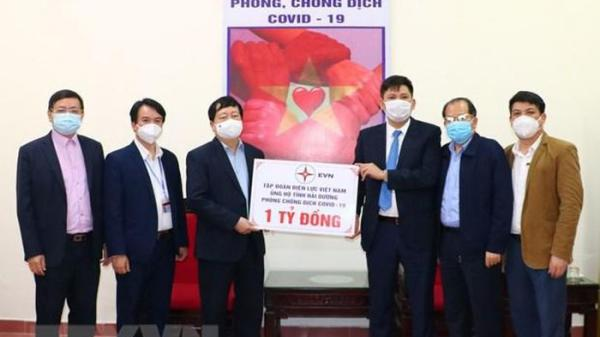 Đắk Lắk và nhiều tỉnh, thành phố ủng hộ Hải Dương phòng chống dịch COVID-19