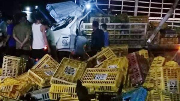 TAI NẠN NGHIÊM TRỌNG tại Đắk Lắk: Xe tải lật trong đêm, 2 người chết, 1 người bị thương nặng