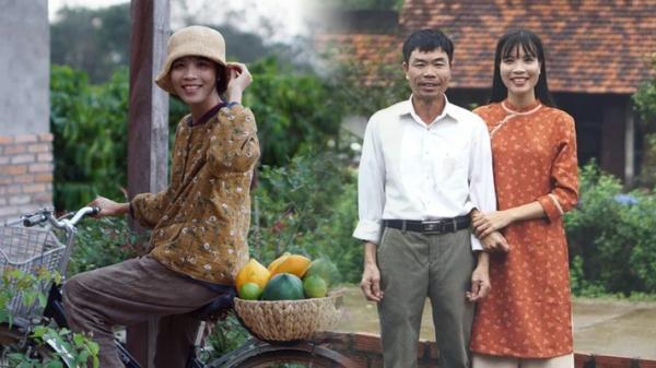 YoυTuber quê Đắk Lắk lần đầu khoe ảnh bố: Vì thương con gái mà ông nhiều đêm mất ngủ