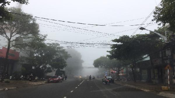 Mờ sương Phố núi Pleiku