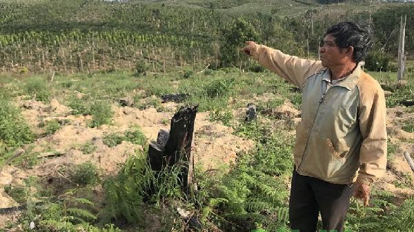 Công an huyện Ðắk Song đang điều tra vụ tranh chấp đất ở Nâm N'Jang