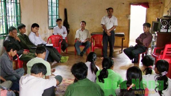 """Đắk Nông: Nỗ lực """"hạ nhiệt"""" các điểm nóng về an ninh nông thôn"""