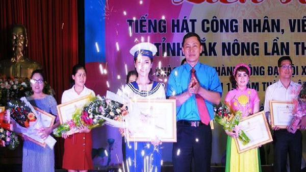 LĐLĐ tỉnh Đắk Nông: Hấp dẫn liên hoan văn nghệ quần chúng năm 2018