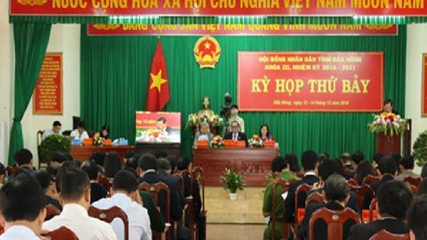 Đắk Nông công bố kết quả lấy phiếu tín nhiệm 30 chức danh lãnh đạo
