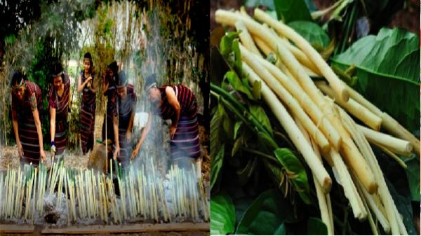 Độc đáo món ăn nấu từ lồ ô ở Tây Nguyên