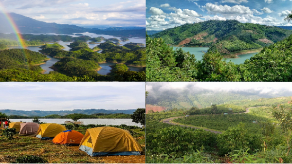 Hồ Tà Đùng 'Hạ Long tuyệt đẹp của Tây Nguyên'