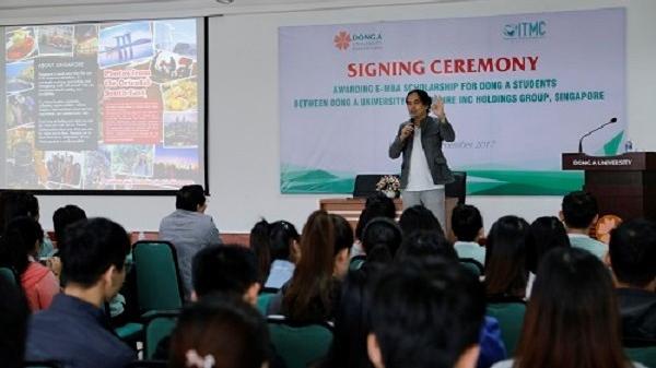 Hàng nghìn sinh viên Đà Nẵng có cơ hội thực tập hưởng lương ở Singapore