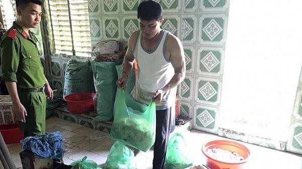 Đà Nẵng: Phát hiện lò mỡ heo không rõ nguồn gốc