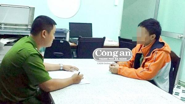 Đà Nẵng: Nam thanh niên tự dùng dao cứa cổ rồi hoang báo bị cướp