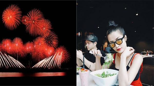 Đông Nhi mang sức trẻ đến lễ hội pháo hoa quốc tế