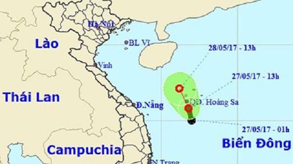 Cảnh báo thời tiết xấu ở hầu hết các vùng biển