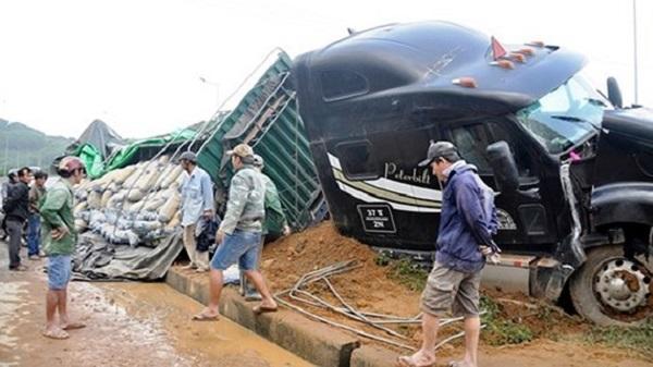 Liên tiếp xảy ra 3 vụ tai nạn giao thông trong 1 giờ đồng hồ