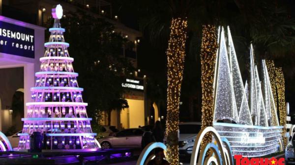 Không khí Noel tràn ngập trên các tuyến phố Đà Nẵng