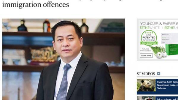 NÓNG: Ông Vũ 'nhôm' đã bị trục xuất khỏi Singapore