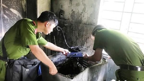 Đà Nẵng: Cháy nhà vì… chập điện máy giặt