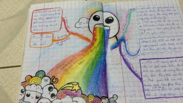 Siêu sáng tạo: Khi bạn là học sinh giỏi Vẽ nhưng phải thi Lý để tốt nghiệp!