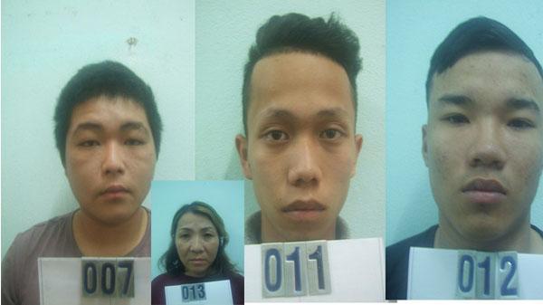 """Đà Nẵng: """"Bà trùm"""" 47 tuổi cầm đầu đường dây thuốc lắc cùng 3 thanh niên 17 tuổi vừa bị bắt giữ"""