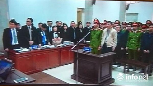 Toà tuyên án ông Đinh La Thăng 13 năm tù, Trịnh Xuân Thanh tù chung thân