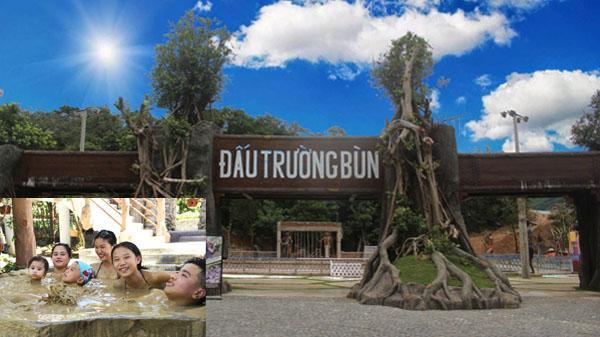 Đấu trường bùn tại Núi Thần Tài - Đà Nẵng: Mới lạ và mê say!