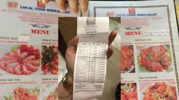 Mời ekip của ca sĩ Quang Lê đối chất với nhà hàng Đà Nẵng bị tố 'chặt chém' để làm rõ tranh cãi