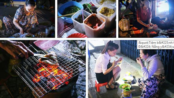"""""""Tiệm bánh tráng nướng 1000 sao"""" của bà chủ cụt tay trong góc sân ga được người Đà Nẵng yêu mến gì đâu!"""