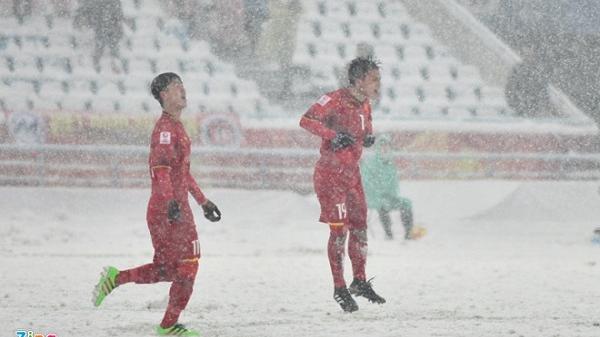 U23 VN vs Uzbekistan (1-1, H1): Siêu phẩm của Quang Hải