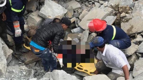 Đà Nẵng: Nam công nhân bị đá đè chết khi đang làm việc tại mỏ đá