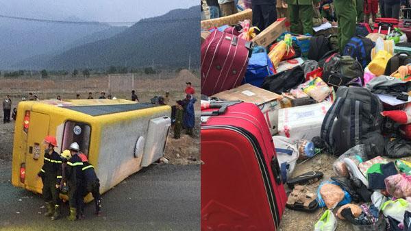 CHÙM ẢNH: Hiện trường vụ tai nạn giao thông ở nam Hải Vân khiến 2 chết 11 người bị thương