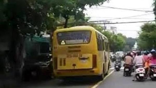 Xe buýt bị phạt 'nguội' từ ảnh người dân đưa lên facebook