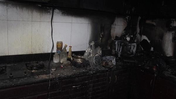 Cháy nhà dân do chập điện
