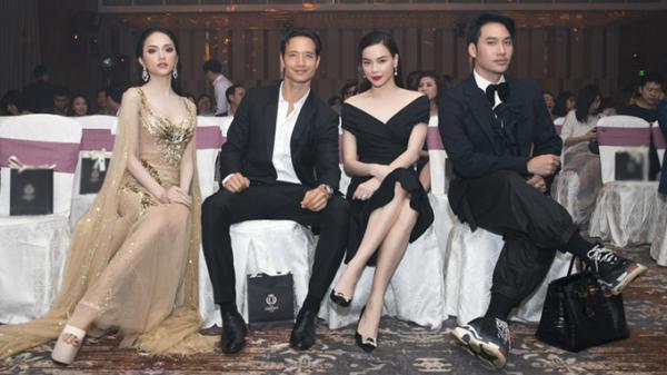 Hoa hậu Hương Giang hội ngộ Kim Lý - Hồ Ngọc Hà ở Đà Nẵng